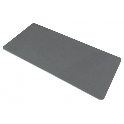 GREY RUBBER PAD W/ ADHESIVE BACKING