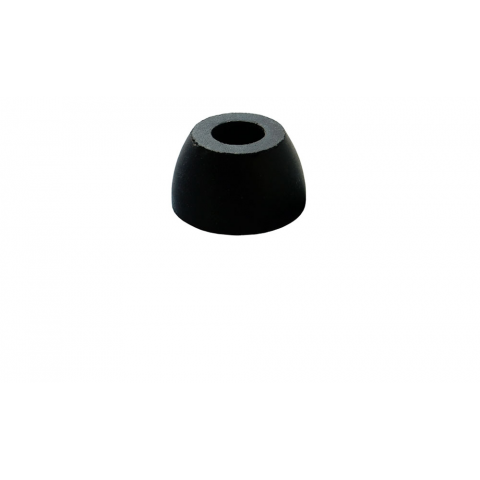 "RUBBER FOOT, 1.1"" DIAMETER X 0.62"""