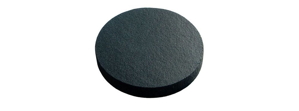 "1.75"" DIA. X 0.25"" FOAM DISC W/ ADHESIVE BACK"