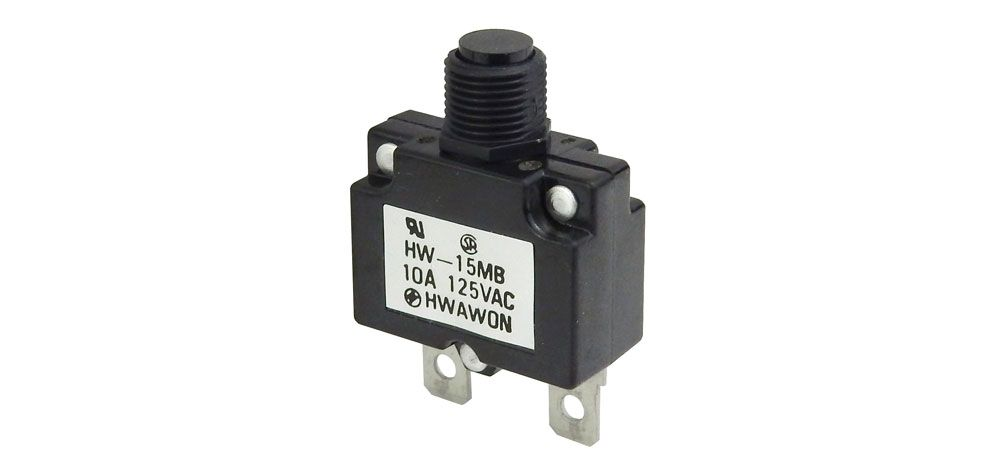 10 Amp Circuit Breaker All Electronics Corp