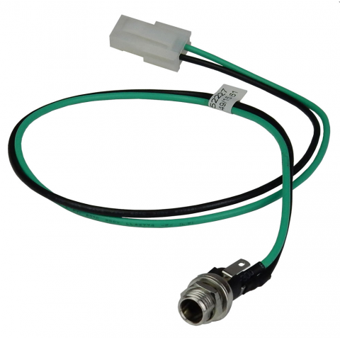 2.5MM COAX POWER JACK W/ LEADS