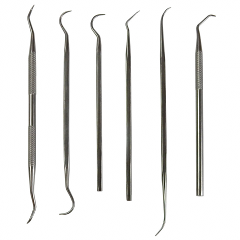6 PIECE PICK SET
