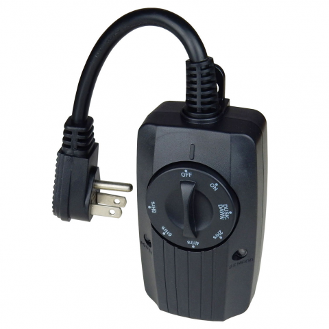 OUTDOOR MECHANICAL TIMER WITH PHOTO SENSOR