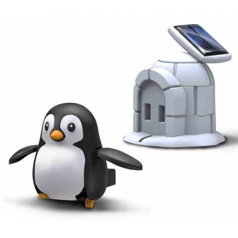 PLUG-IN SOLAR RECHARGEABLE PENGUIN KIT