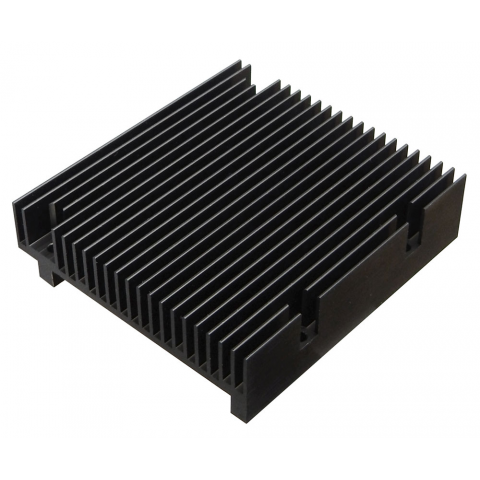 ALUMINUM HEAT SINK W/ COPPER PAD
