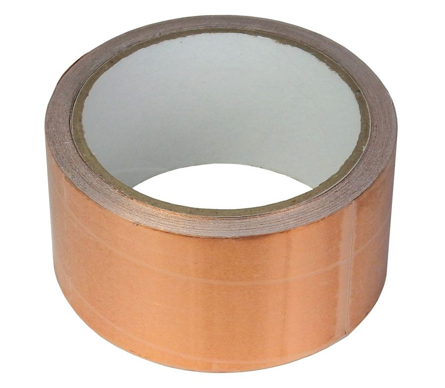 "COPPER TAPE, 2"" X 33 FT. ROLL"