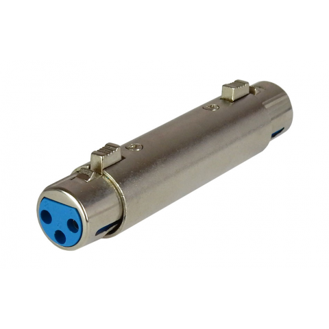 XLR COUPLER, FEMALE-FEMALE