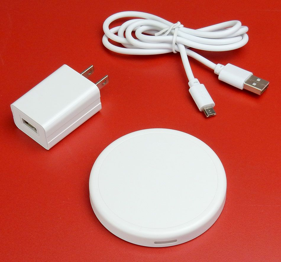 WIRELESS CHARGER FOR QI ENABLED PHONES