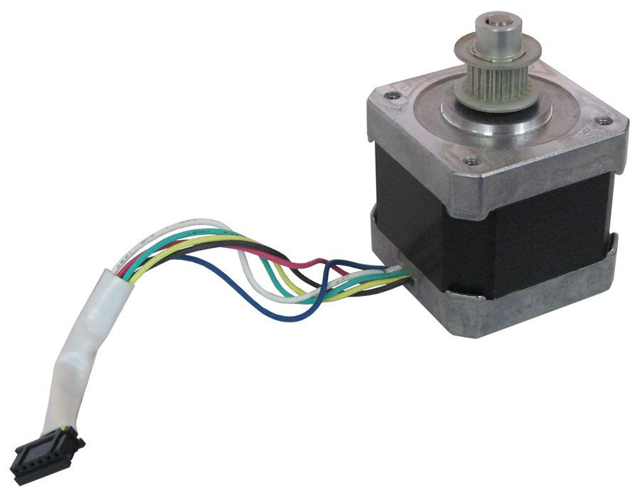 HIGH-RESOLUTION BI-POLAR STEPPER MOTOR, USED
