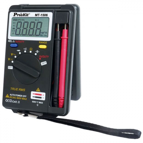 POCKET-SIZE AUTO-RANGE MULTIMETER