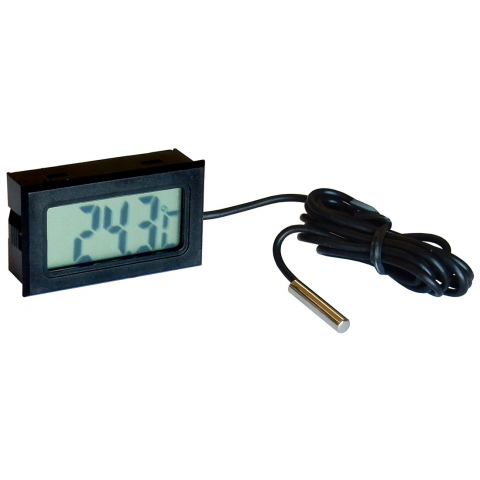 DIGITAL THERMOMETER W/ PROBE SENSOR