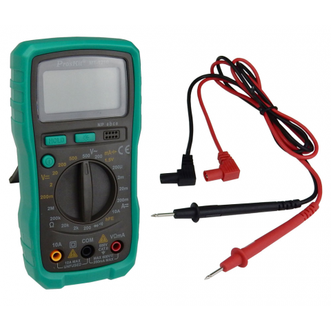 COMPACT 3-1/2 DIGIT MULTIMETER
