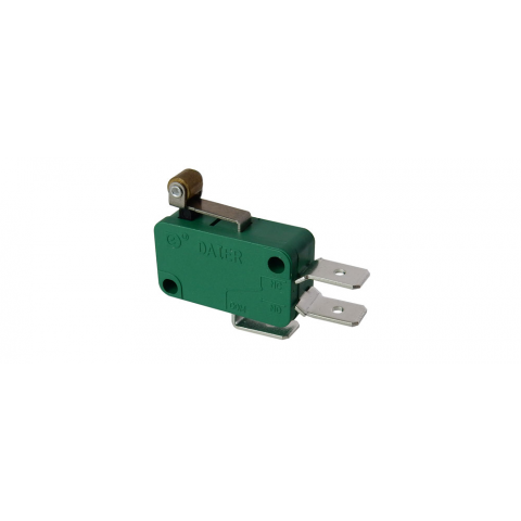 15A SNAP-ACTION SWITCH W/ SHORT ROLLER LEVER