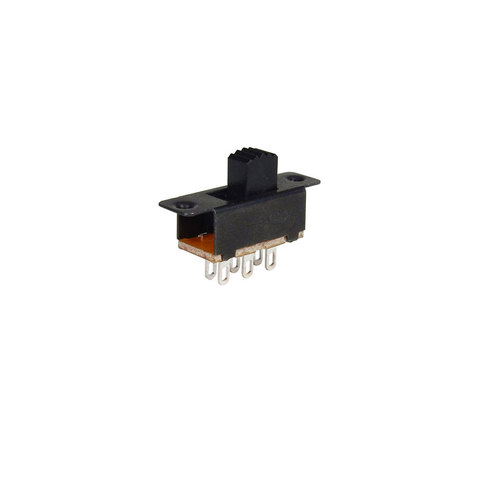 MINIATURE DPDT SLIDE SWITCH