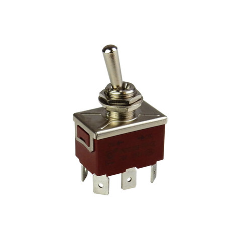 DPDT ON-ON HEAVY-DUTY TOGGLE SWITCH