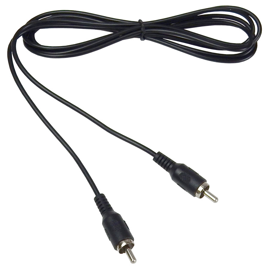 6' SHIELDED RCA AUDIO CABLE