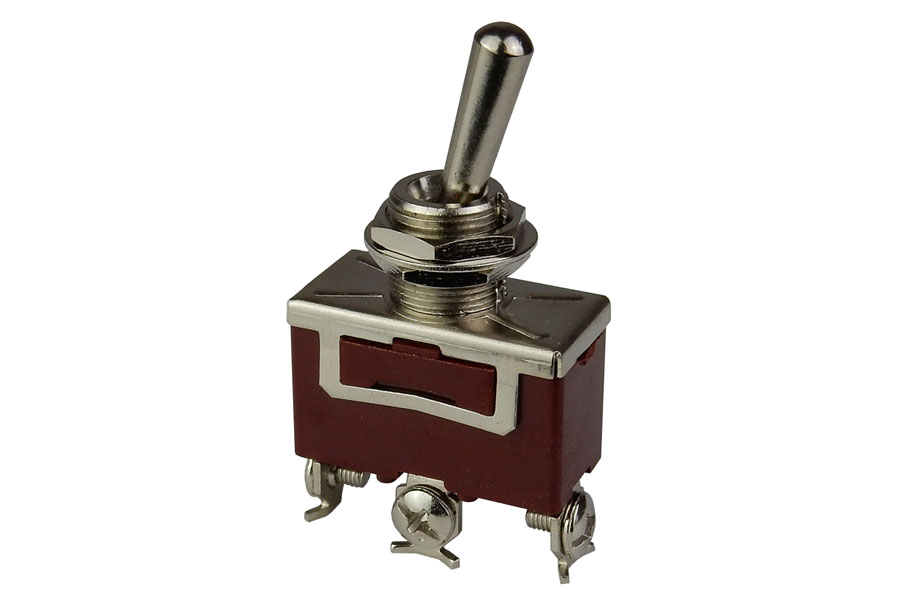 ON-ON SPDT HEAVY DUTY TOGGLE SWITCH