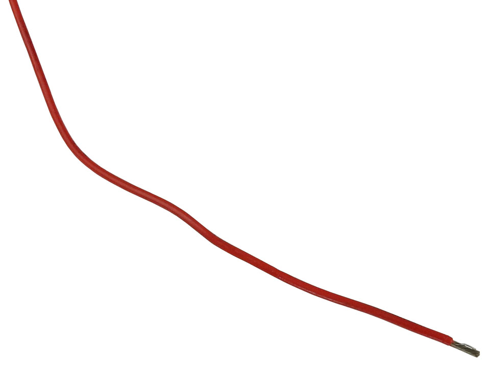 20 GA ETFE HI-TEMP WIRE, RED