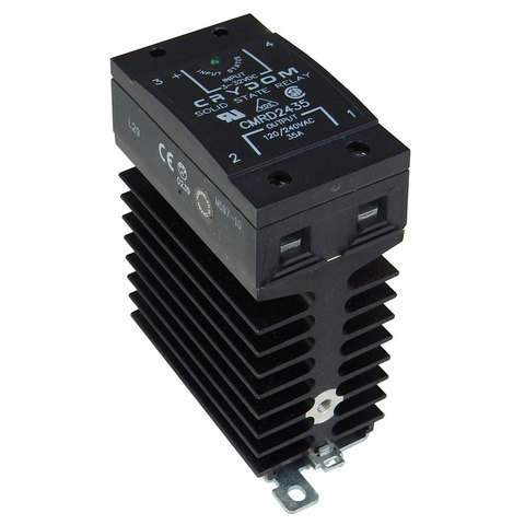 35A SOLID STATE RELAY, DIN RAIL MOUNT
