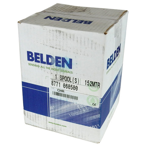 BELDEN 3-CONDUCTOR AWG22 W/ FOIL SHIELD