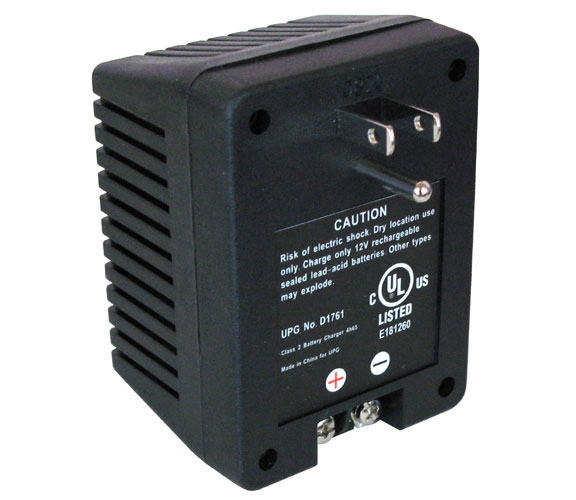12VDC 1000MA DUAL-STAGE CHARGER
