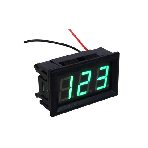 60-500 VAC DIGITAL PANEL METER
