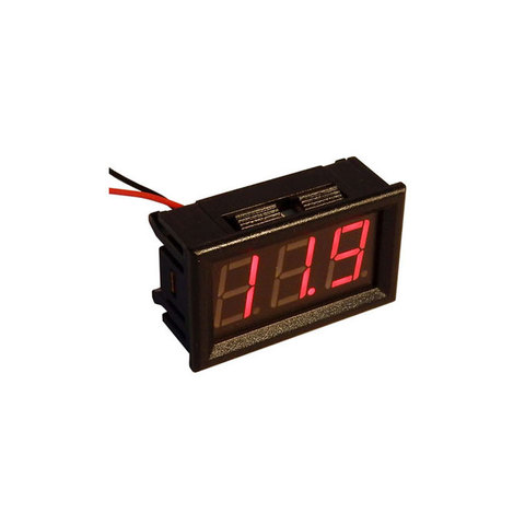 4-150 VDC RED DIGITAL PANEL METER