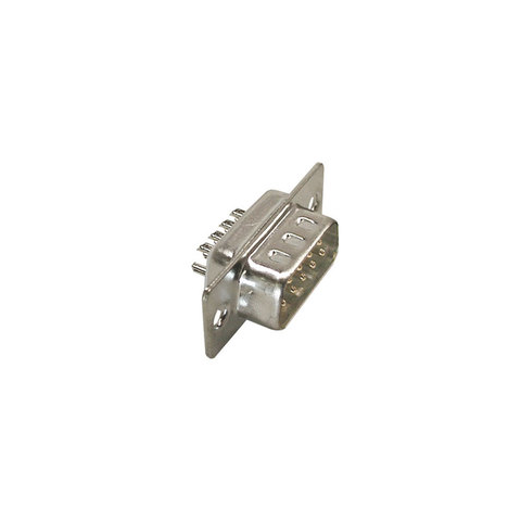 D-SUB CONNECTOR, 9 PIN MALE