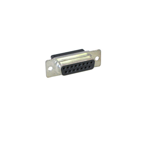 DB-15 FEMALE CONNECTOR, NO-PINS