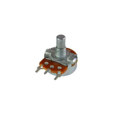 "50K LINEAR POTENTIOMETER, 1/4"" SHAFT"