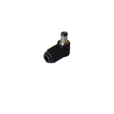 2.5MM CO-AX POWER PLUG, RIGHT ANGLE