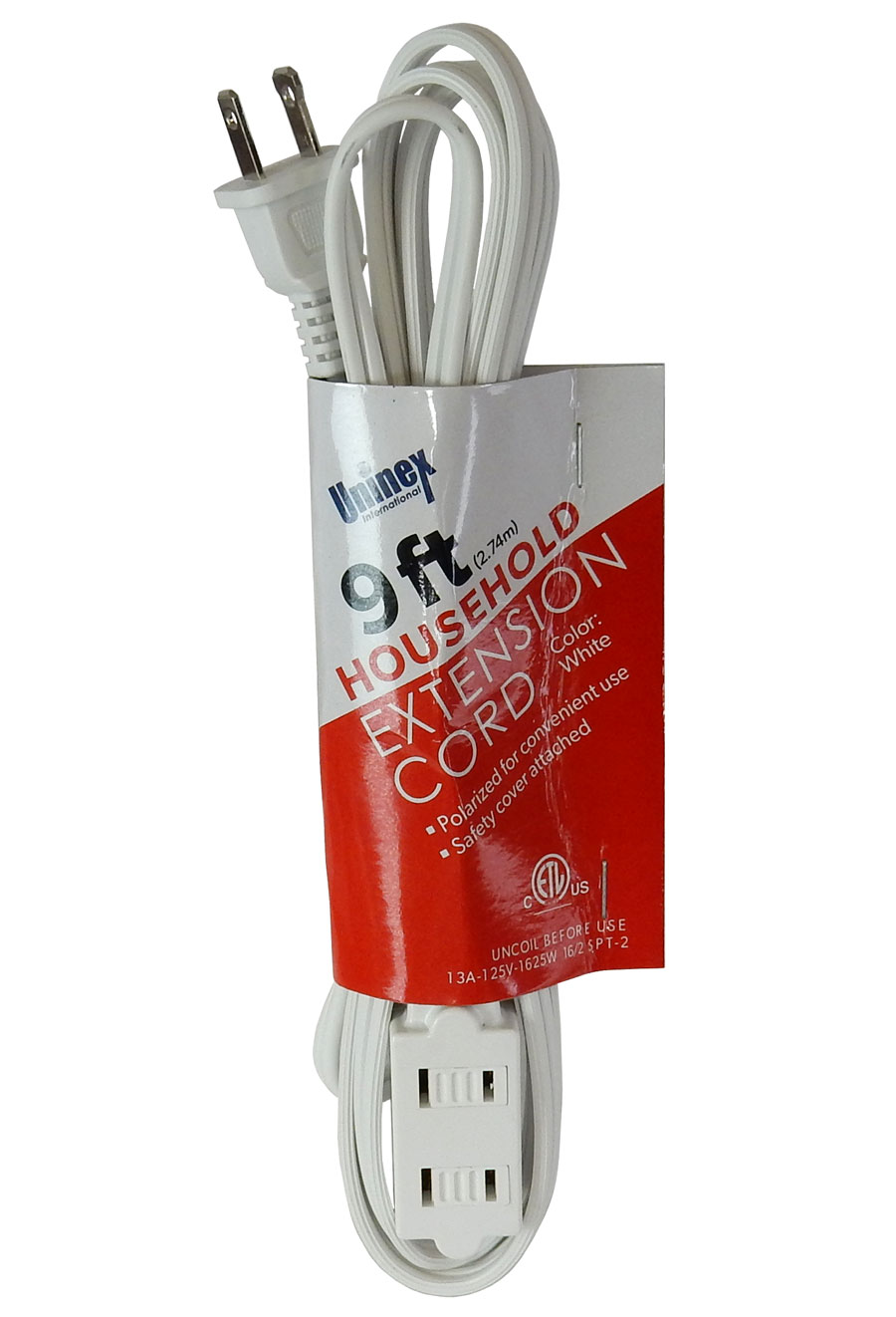 9' HOUSEHOLD EXTENSION CORD
