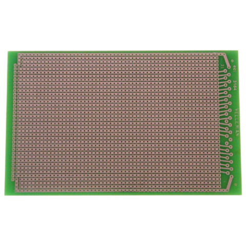 SOLDERABLE PERF BOARD, LINE PATTERN