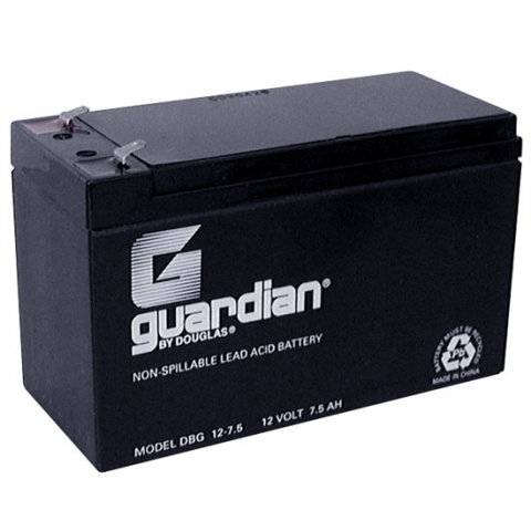12V 7.5AH LEAD ACID BATTERY