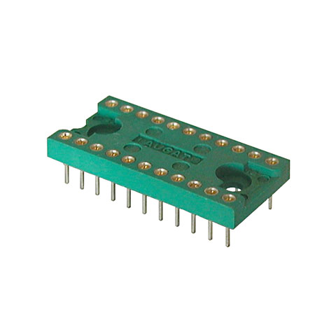 HIGH RELIABILITY 22 PIN IC SOCKET