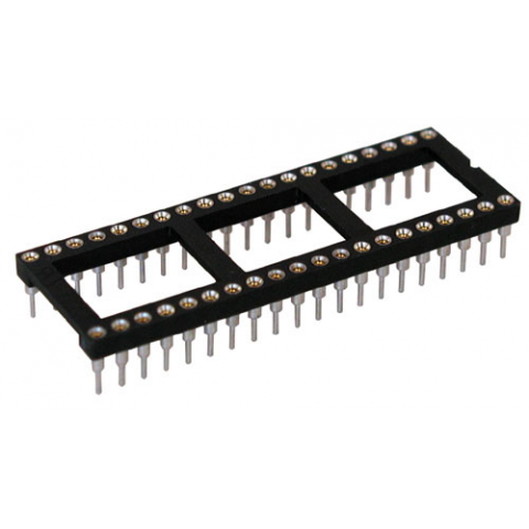 40 PIN IC SOCKET, HI REL. MACHINE PINS