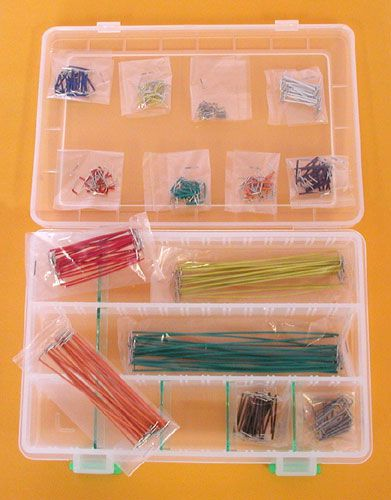 350 Piece Jumper Wire Assortment All Electronics Corp