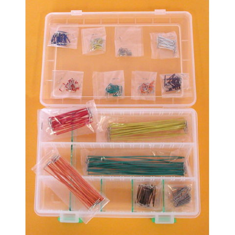 350 PIECE JUMPER WIRE ASSORTMENT