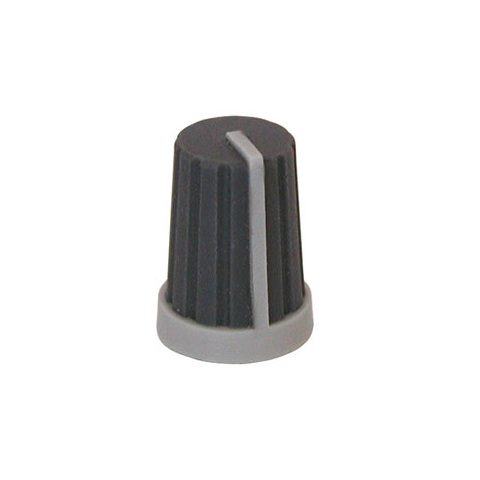 SOFT TOUCH KNOB FOR 6MM SHAFT
