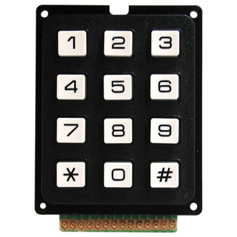 12 BUTTON KEYPAD