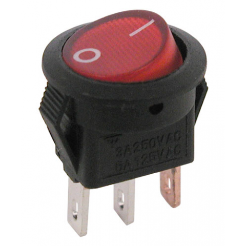 12 LIGHTED ROCKER SWITCH