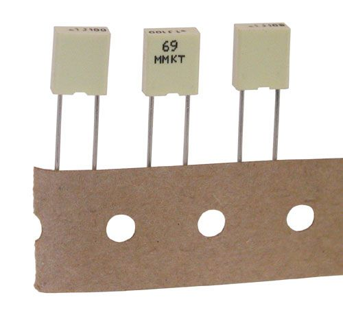 0.1UF 100V MINI-METALLIZED POLYESTER CAPACITOR
