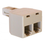 T-ADAPTER FOR MODULAR JACK