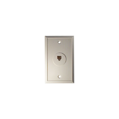 FLUSH MOUNT MODULAR WALL PLATE