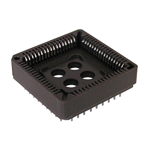 68 PIN PLCC SOCKET, THROUGH-HOLE STYLE