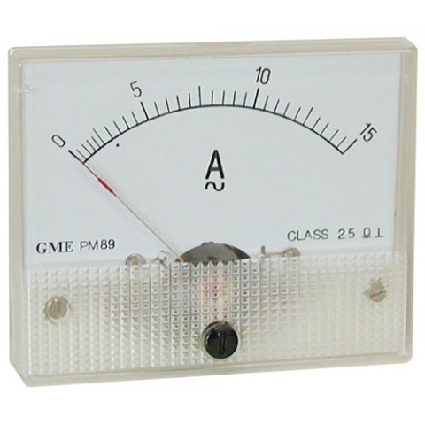 15A AC PANEL METER