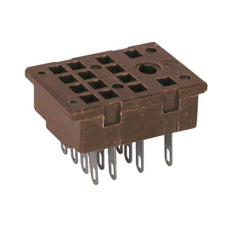 14 PIN RELAY SOCKET All Electronics Corp