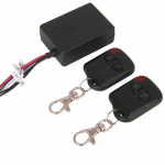 KEYCHAIN REMOTE CONTROL, 12VDC 6 AMP