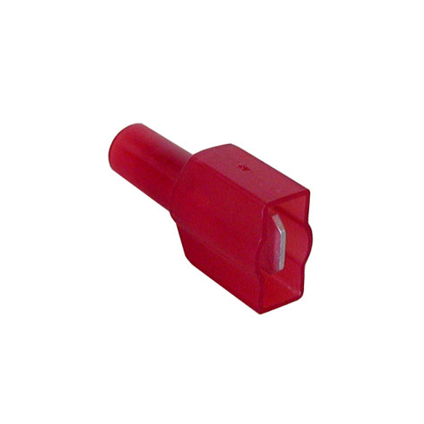 "1/4"" FULLY INSULATED MALE, RED"