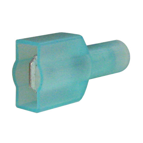 "1/4"" FULLY INSULATED MALE, BLUE"
